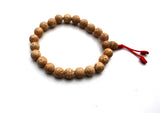 Lotus Seed Beads Adjustable Prayer Mala Bracelet - NepaCrafts