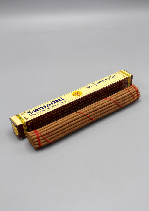 Samadhi White Sandalwood Tibetan Incense