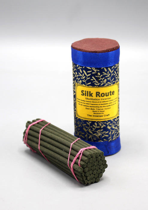 Tibetan Silk Route Meditation Incense Blue Pack