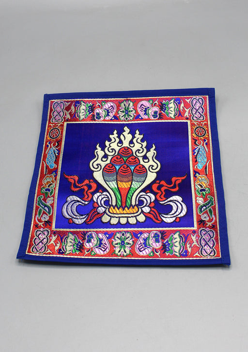 Tibetan Buddhist Brocade Norbu, Wish Fulfilling Jewel Altar Place-mat