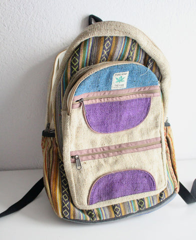 Ecofriendly Hemp Backpack