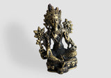 "Mini Green Tara Statue 2"" High - NepaCrafts"