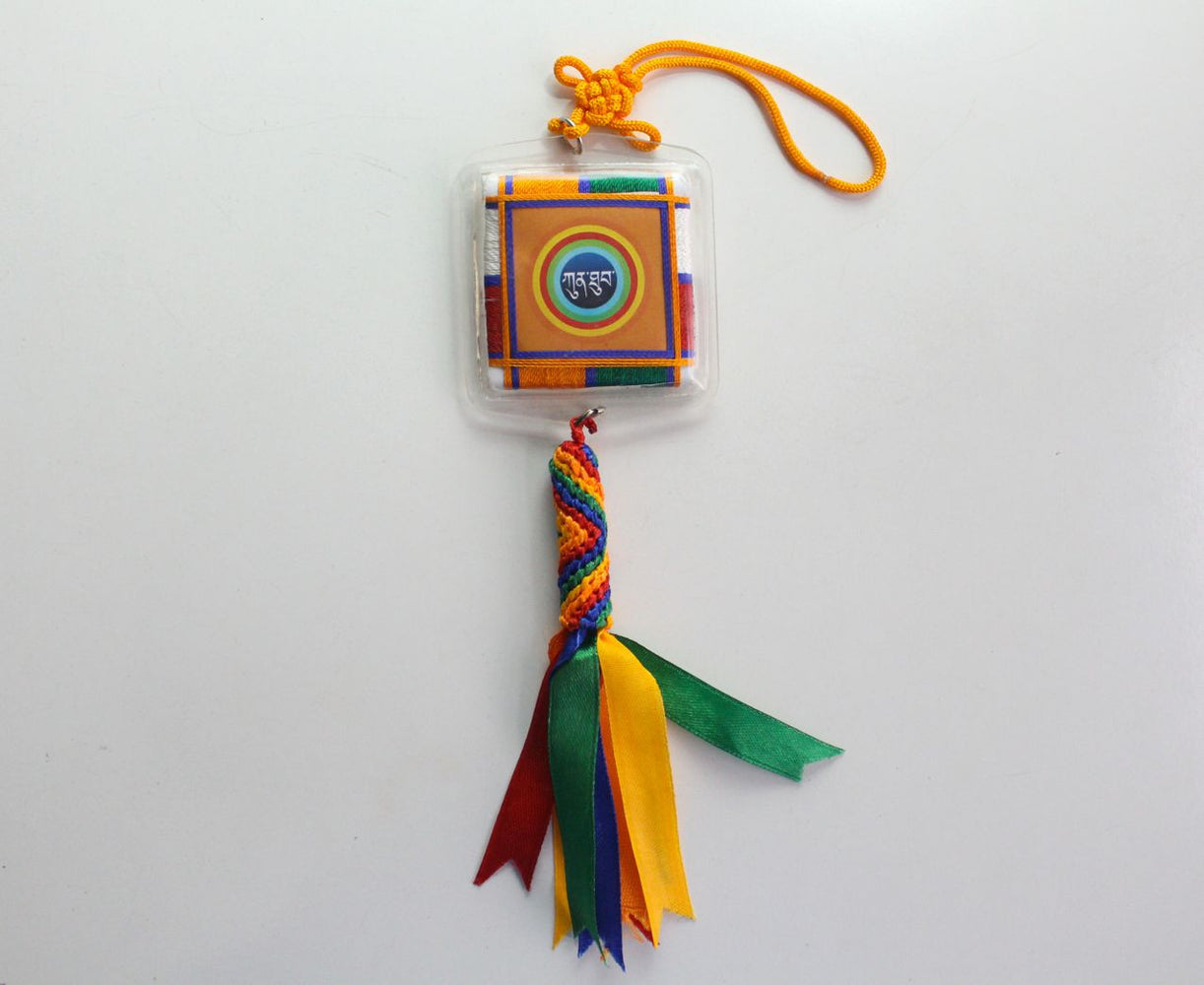 Kunthup Car Hanging Tibetan Amulet for Achieving All Good Fortunes - nepacrafts