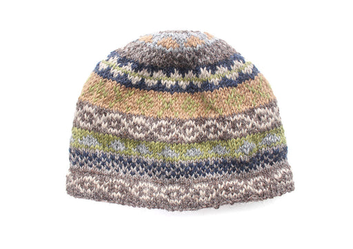 Multicolored Woolen Winter Sherpa Cap - nepacrafts