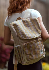 Multipurpose 100% Natural Ecofriendly Hemp Carry Bag - NepaCrafts