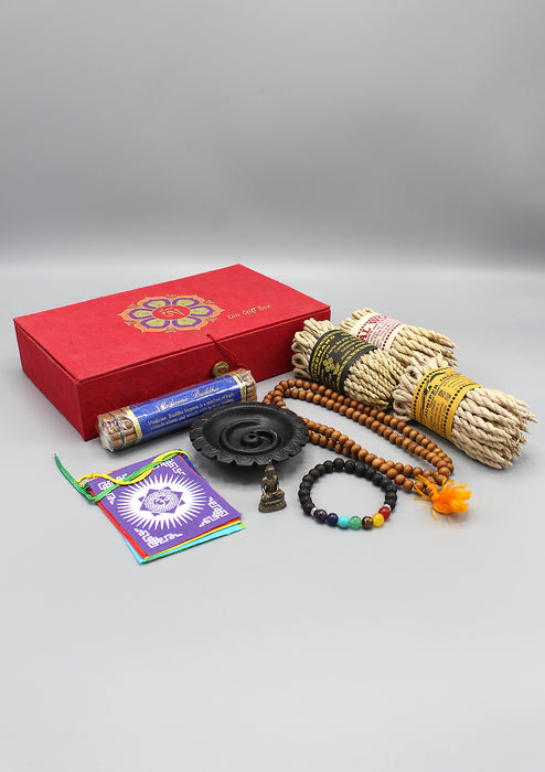 Om Mani Rope Incense Gift Set