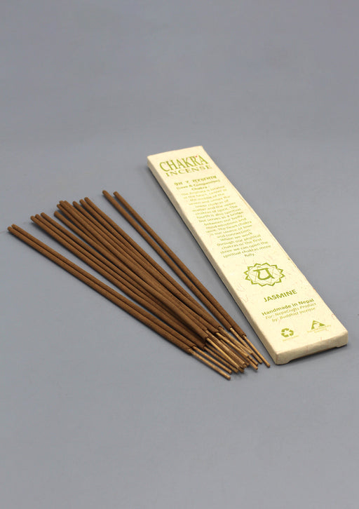 NepaCrafts Premium Jasmine Heart Chakra Incense Sticks