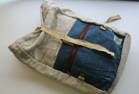Extra Durable Hemp Rucksack