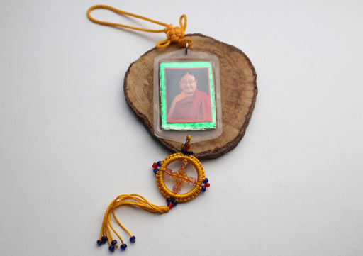 Sakya Trinzin Rinpoche Car Hanging Protection Amulet-Dharma Object for Car - nepacrafts