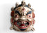 HandCarved Bhairav-The Protector Wooden Wall Hanging Mask - nepacrafts
