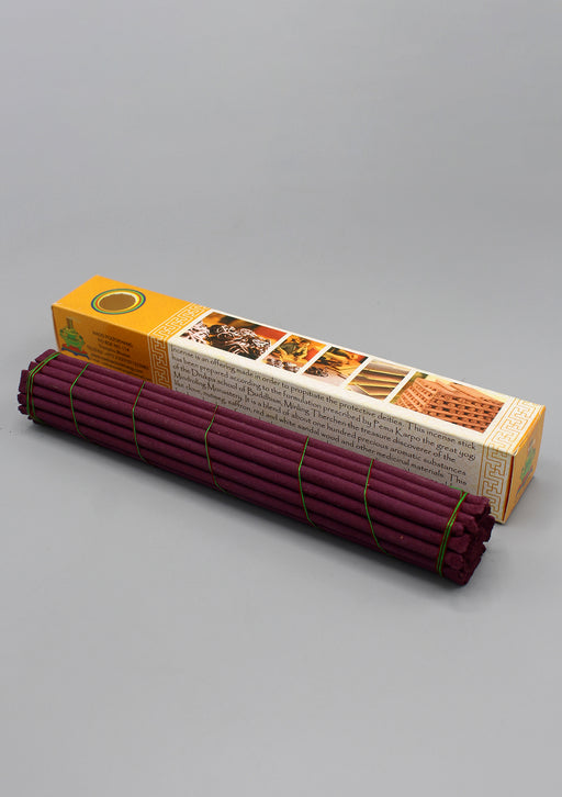 Orange Box Bhutanese Nado Poizokhang Incense - nepacrafts