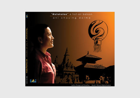 """Matakala"" a hot-air baloon Ani Choying Dolma Audio CD - NepaCrafts"