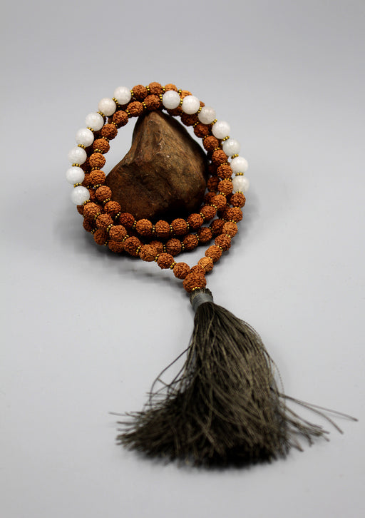 Rudrakshya Beads Tibetan Meditaion Prayer Mala