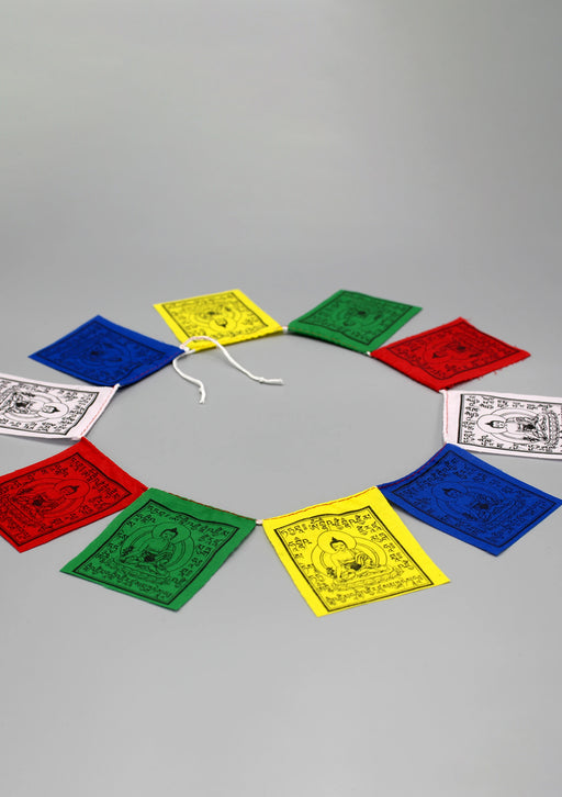 Baby Medicine Buddha Prayer Flags