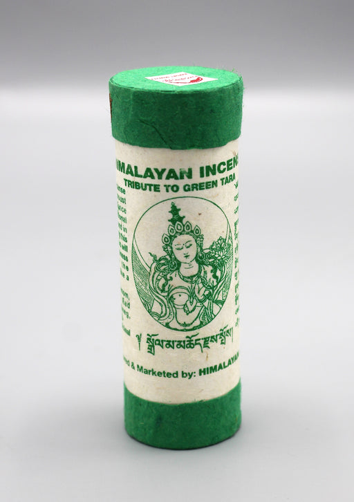 Himalayan Incense Tribute to Green Tara - nepacrafts