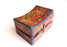 Hand Carved Cheppu and Lotus Symbol Painted Tibetan Wooden Box - nepacrafts