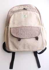 Light Weight and Multipurpose Ecofriendly Hemp Carry Bag, Hemp Backpack - NepaCrafts