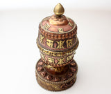 Unique Om Mani Prayer Wheel - NepaCrafts