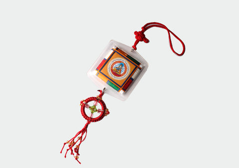 Guru Rinpoche Car Hanging Protection Amulet - NepaCrafts