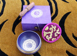 Singing Bowl Crown Chakra Gift Box with free Incense - NepaCrafts