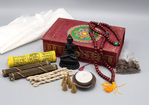 Mandala Travelling Altar Incense Gift Pack - nepacrafts