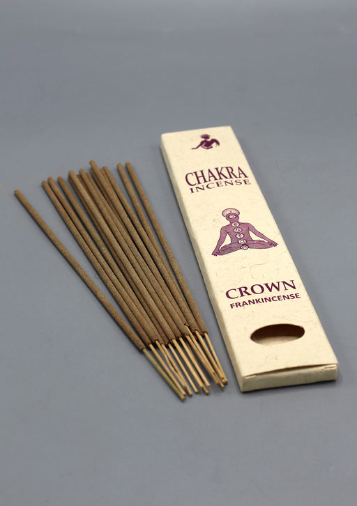 NepaCrafts Premium FrankIncense Crown Chakra Incense Sticks