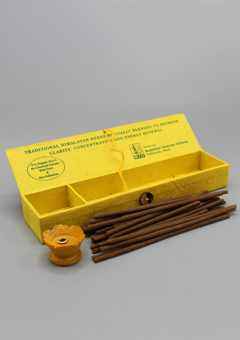 Natural Himalayan Incense Lokta Box Gift Pack - nepacrafts