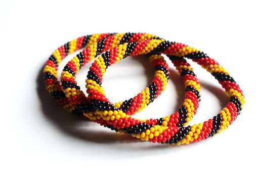 German Flag Roll On Bracelet - nepacrafts
