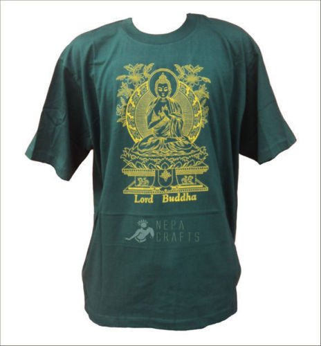 Lord Buddha Printed T-shirt - nepacrafts