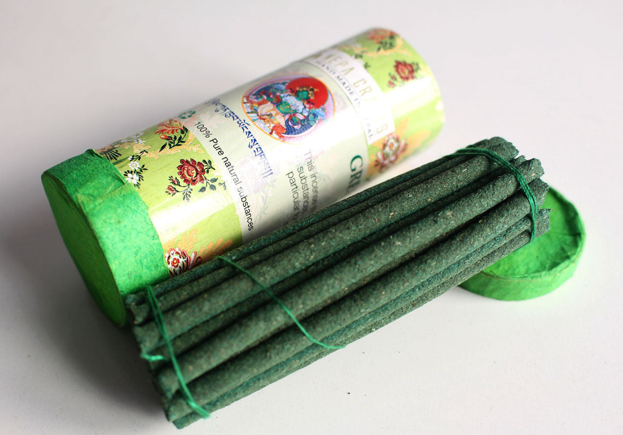 Green Tara Mini Tibetan Incense - nepacrafts