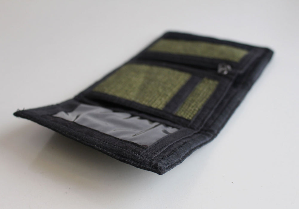 Tri Fold Hemp Wallets - nepacrafts