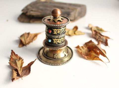Baby Om Mani Tibetan Prayer Wheel