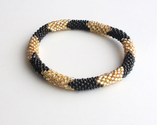 Stripe Roll On Bracelet - nepacrafts