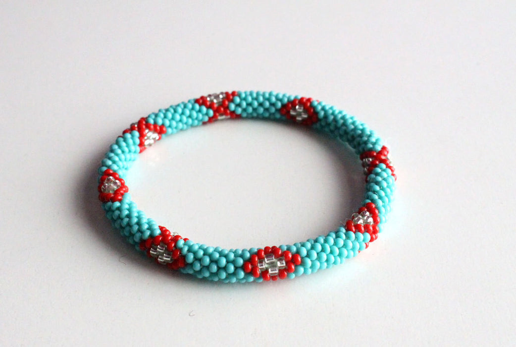 Turquoise Roll On Bracelet - nepacrafts