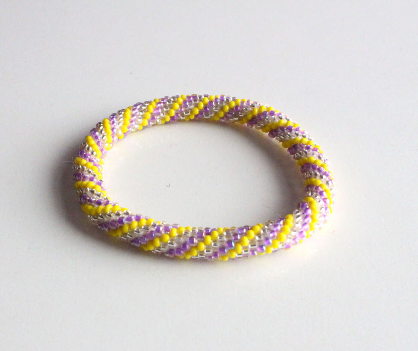 Multi Colored Nepal Roll On Bracelet - nepacrafts