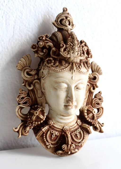 Beautiful Resin Tara Mask Wall Hanging - nepacrafts
