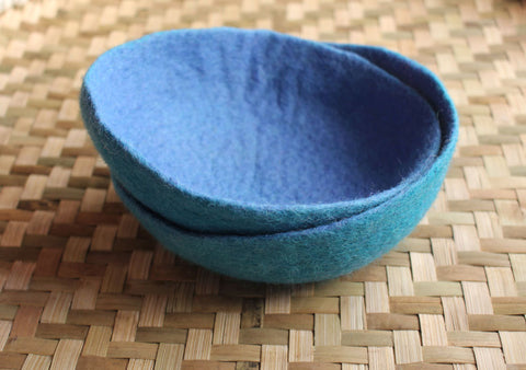 Large Felt Bowls, Felt Decorative Bowls