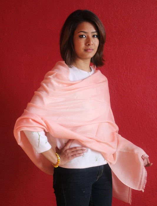 100% Exclusive Cashmere Pashmina Stole - nepacrafts