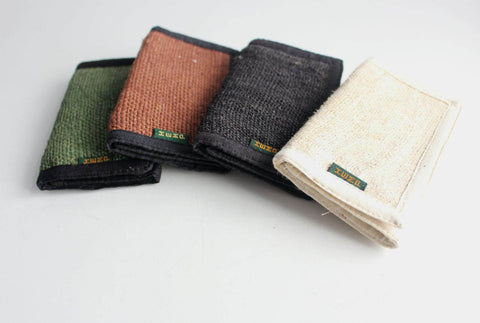 Tri Fold Hemp Wallets