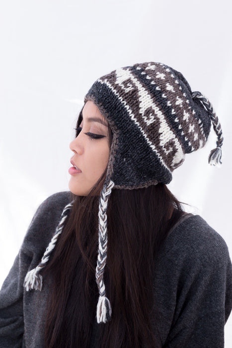 Natural Color Woolen Cap