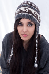 Natural Color Woolen Beanie Hat - NepaCrafts