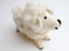 White Fluffy Felt Sheep Animal Deco - nepacrafts