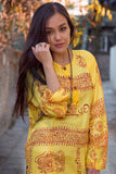 Yellow Om Kurtha Shirt - NepaCrafts