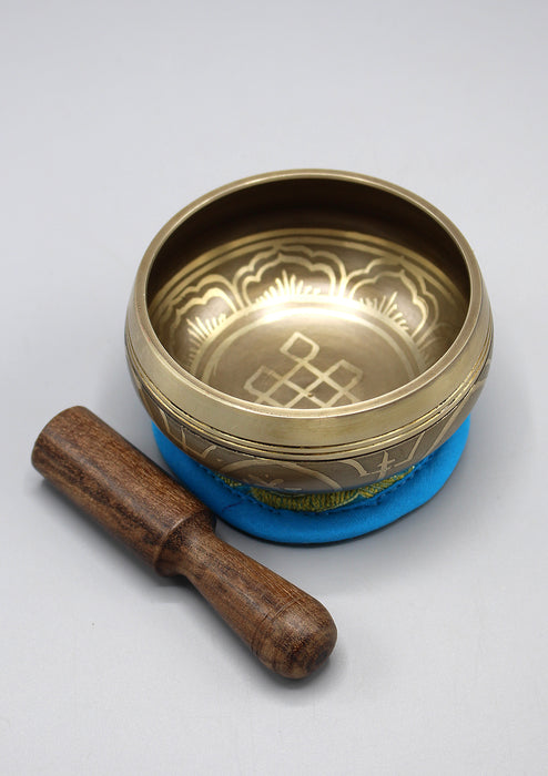 Endless Knot Tibetan Singing Bowl