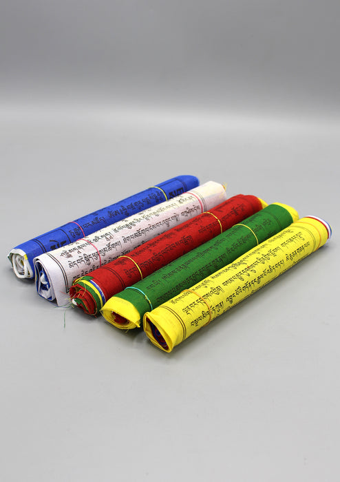Tibetan Prayer Flags Mixed Deity 10 Cotton Sheets