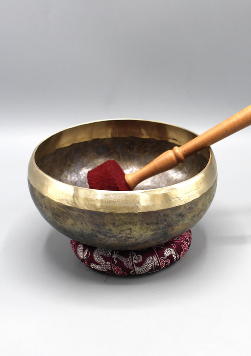 Hand Hammered Tibetan Meditation Singing Bowls