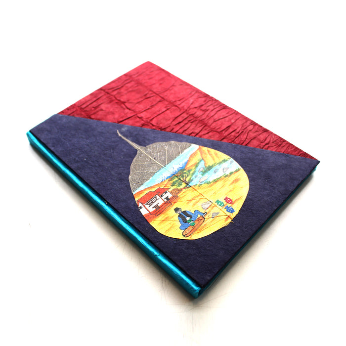 Potter In the Himalaya Lokta Paper Handpainted Journal - nepacrafts