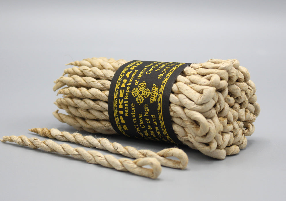 Spikenard Nepali Rope Incense - nepacrafts