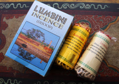 Lumbini Rope Incense 2 packs - NepaCrafts