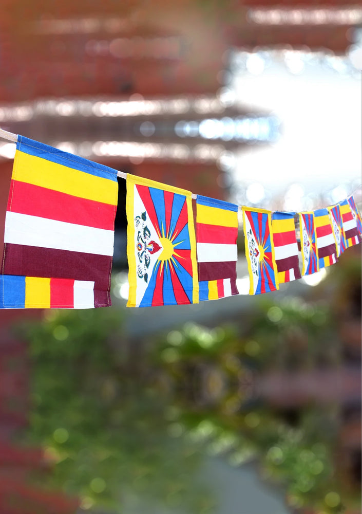 Tibetan Buddhist Cotton Prayer Flags